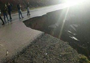 رانش زمین در مینودشت خسارت جانی نداشت/ قطع گاز شهر دوزین و ۲۱ روستای منطقه