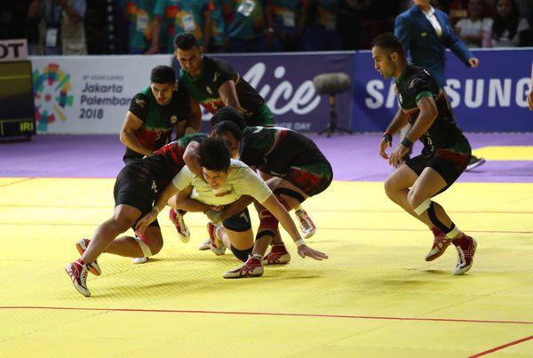 درخشش کبدی ایران با ورزشکاران گلستانی
