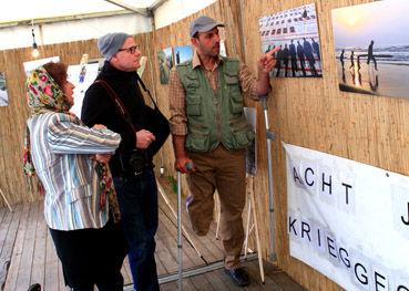 حضور جانباز دانشگاه علوم کشاورزی و منابع طبیعی گرگان درجشنواره بینالمللی برلین