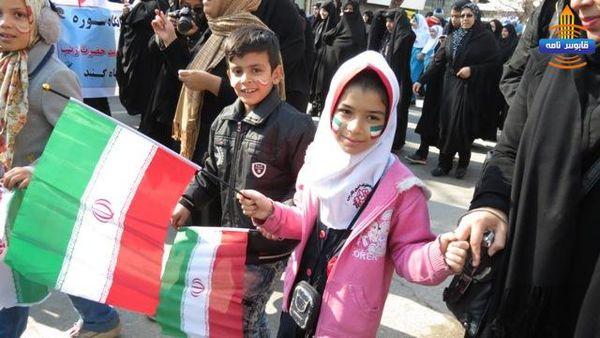 تصاویر/ راهپیمایی حماسی 22 بهمن در گنبدکاووس