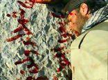 از اهتزاز پرچم یااباالفضل تا بوسه رزمنده زخمی به پیشانی یک شهید + تصاویر
