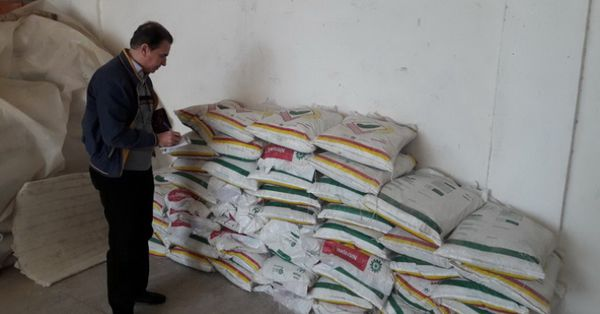 از انبار کارگزاران کود در استان بازدید شد