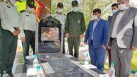 پنجمین سالگرد شهادت شهید مدافع حرم ارتش در گالیکش برگزار شد