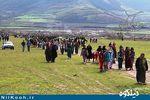 همایش بزرگ پیادهروی خانوادگی روستای آق قمیش برگزار شد + تصاویر
