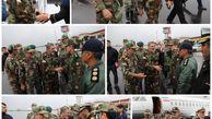 حضور فرمانده کل ارتش جمهوری اسلامی ایران در گرگان