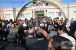 تجمع چندین باره کارگران معدن ذغال سنگ قشلاق در فرمانداری آزدشهر + تصاویر
