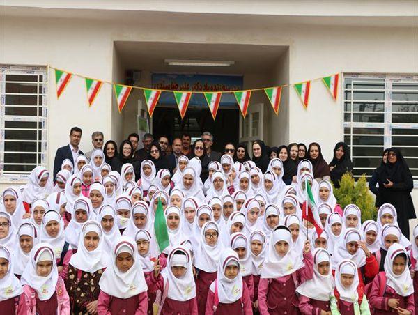 افتتاح دبستان 6 کلاسه در روستای کریم آباد گرگان + تصاویر