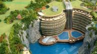 عکس/ زیباترین هتل جهان در دل معدن