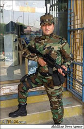 شهادت جوان خرمشهری مدافع حرم +تصاویر