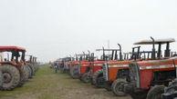 پلاک گذاری ۵ هزار و ۱۰۰ دستگاه تراکتور در گلستان