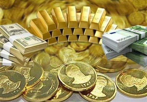 قیمت طلا، قیمت دلار، قیمت سکه و قیمت ارز امروز ۹۸/۱۰/۰۲