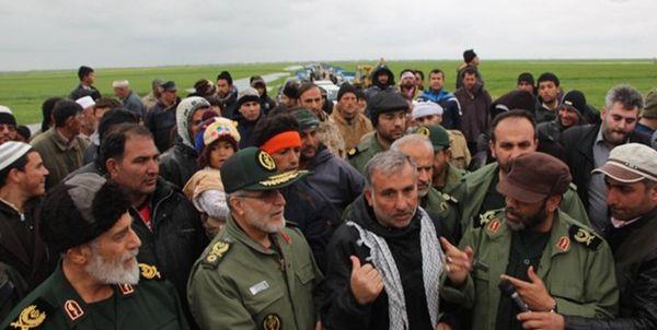 به منظور امدادرسانی به مردم بازدیدهای میدانی فرمانده سپاه نینوا از مناطق سیلزده آق قلا+تصاویر