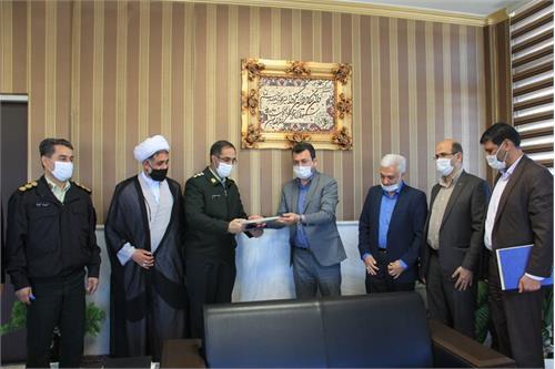 تفاهم نامه همکاری کمیته امداد استان با فرماندهی انتظامی گلستان منعقد شد