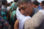 استقبال غم انگیز کاروان پرحادثه 38017 گنبد کاووس در فرودگاه گرگان+تصاویر