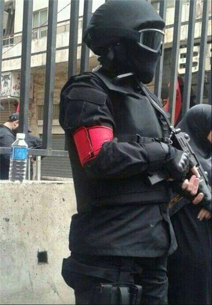 سربازان حاج عماد به کمک بشار شتافتند/ سیاهپوشهای نقابدارِ حزبالله راهی حلب شدند+عکس