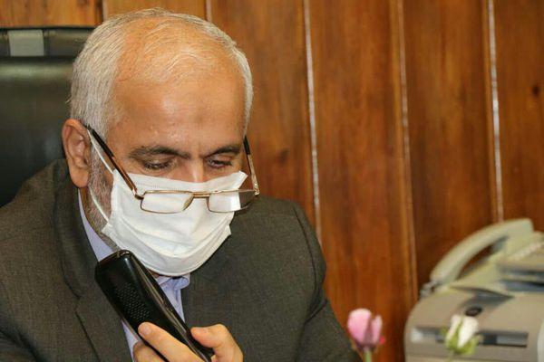 گفتگوی تلفنی رئیس کل دادگستری گلستان با حقوقدانان بسیجی محاکم استان