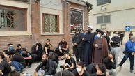تجمع و عزاداری خودجوش مردمی در مقابل شورای شهر گرگان برگزار شد
