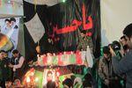 مراسم شب وداع با شهید مدافع حرم سیداحسان حاجی حتملو برگزار شد.