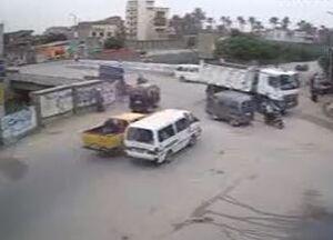 فیلم/ تصادف مرگبار در مصر