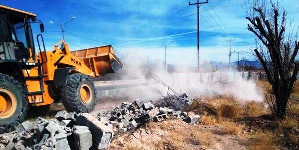 تشکیل پلیس انفال به منظور جلوگیری از ساخت و سازهای غیرمجاز