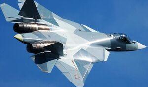 فیلم/ پرواز دیدنی جنگنده نسل 5 سوخو57