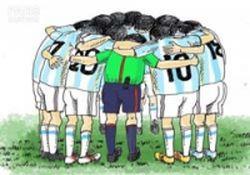 کاریکاتور / یار دوازدهم آرژانتین!