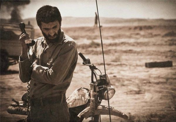 بابک حمیدیان: «ایستاده در غبار» چکیده رویاهای من است +عکس