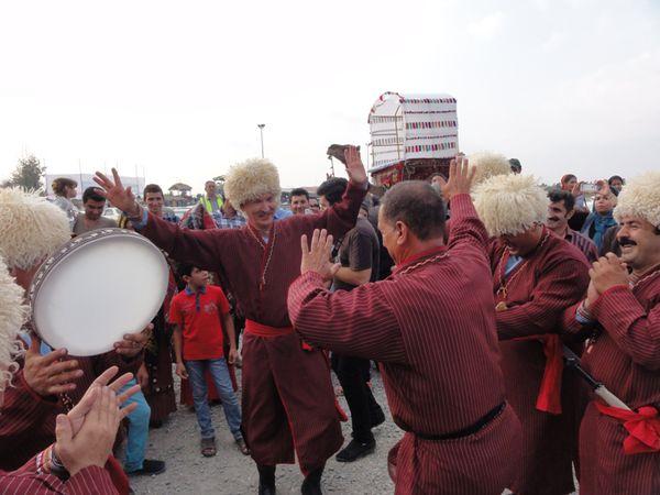 حواشی تصویری نهمین جشنواره فرهنگ اقوام ایران زمین در گلستان