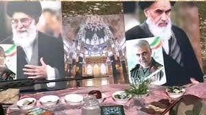 فیلم/ لحظه تحویل سال مدافعان حرم در خان طومان