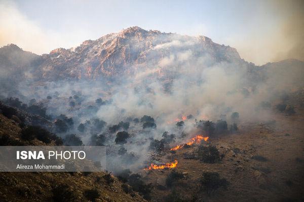 خطر حریق در عرصههای جنگلی گلستان