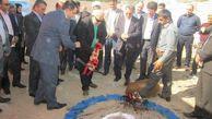 کلنگ ساختمان شیرخوارگاه فاطمه زهرا (س) در گرگان به زمین زده شد