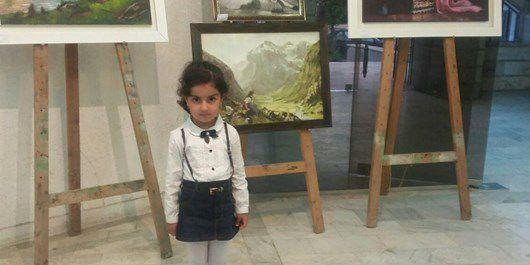 آیلین امیری، دختر 4 ساله گلستانی که شاهنامه فردوسی حفظ میکند
