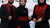 ست لباس خانوادگی خانم بازیگر مشهور در جشن حافظ + عکس