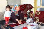 نقش قالیهای دستبافت در اشتغال زنان ترکمن صحرا + تصاویر