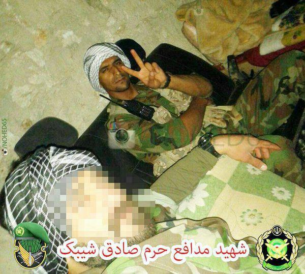عکس / شهید مدافع حرم گلستانی که در یک روز بیش از ۴۰تکفیری را به جهنم فرستاد