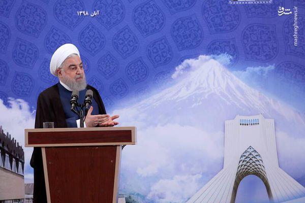 فیلم/ اعلام گام چهارم کاهش تعهدات هستهای توسط روحانی