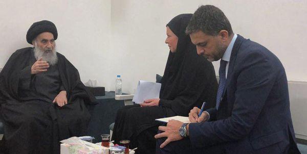 آیتالله سیستانی: عراق مبدئی برای آسیب رساندن به سایر کشورها نیست
