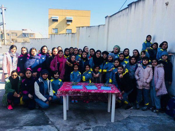 اولین دوره مسابقات انتخابی شنا بانوان زیر ۱۷ سال استان گلستان