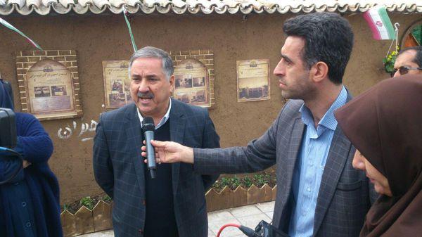 نمایشگاه دهه فجر در گرگان با حضور شهردار