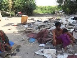 تخریب سکونتگاه مهاجرین پاکستانی