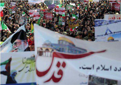 حماسه حضور مردم استان گلستان در روز قدس به روایت تصویر