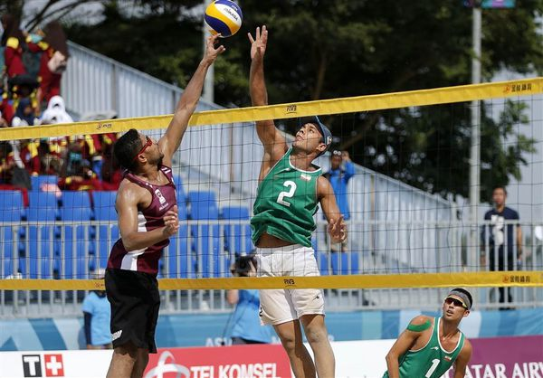 مسابقات جهانی والیبال ساحلی بندرترکمن با حضور ۱۵ تیم برگزار میشود