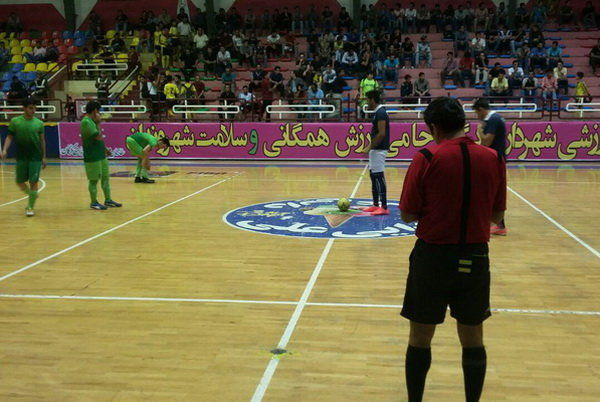 دور اول مسابقات فوتسال جام رمضان گرگان به پایان رسید