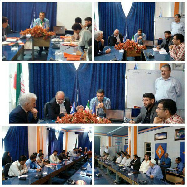 برگزاری دوره آشنایی با ایستگاه خودکار هواشناسی در استان گلستان