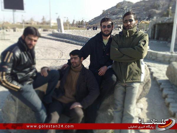 عکس/ سه شهید در یک قاب