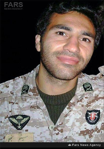 فرزند شهید مدافع حرم چند روز بعد از شهادت پدر به دنیا آمد+تصویر