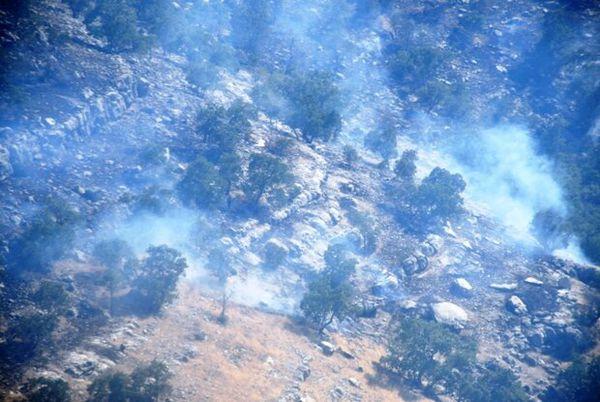 آتش سوزی جنگل های گلستان اطفا شد