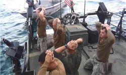 دستگیری 10 نظامی آمریکایی در ایران