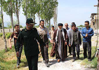 تصاویر/ بازدید فرمانده و مسئول نمایندگی سپاه کردکوی از عرصه اقتصادمقاومتی