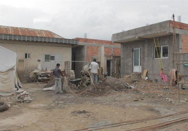 ساخت خانههای سیلزده آققلا تا آخر امسال به اتمام میرسد